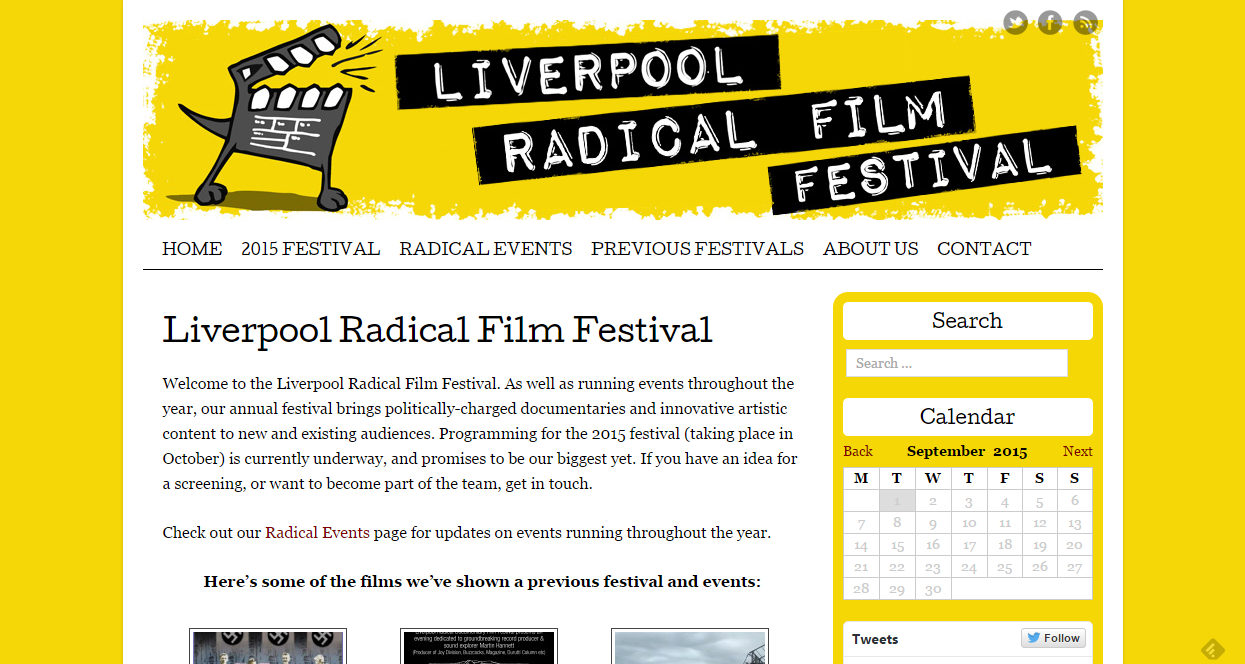 Liverpool Radical Documentary festival