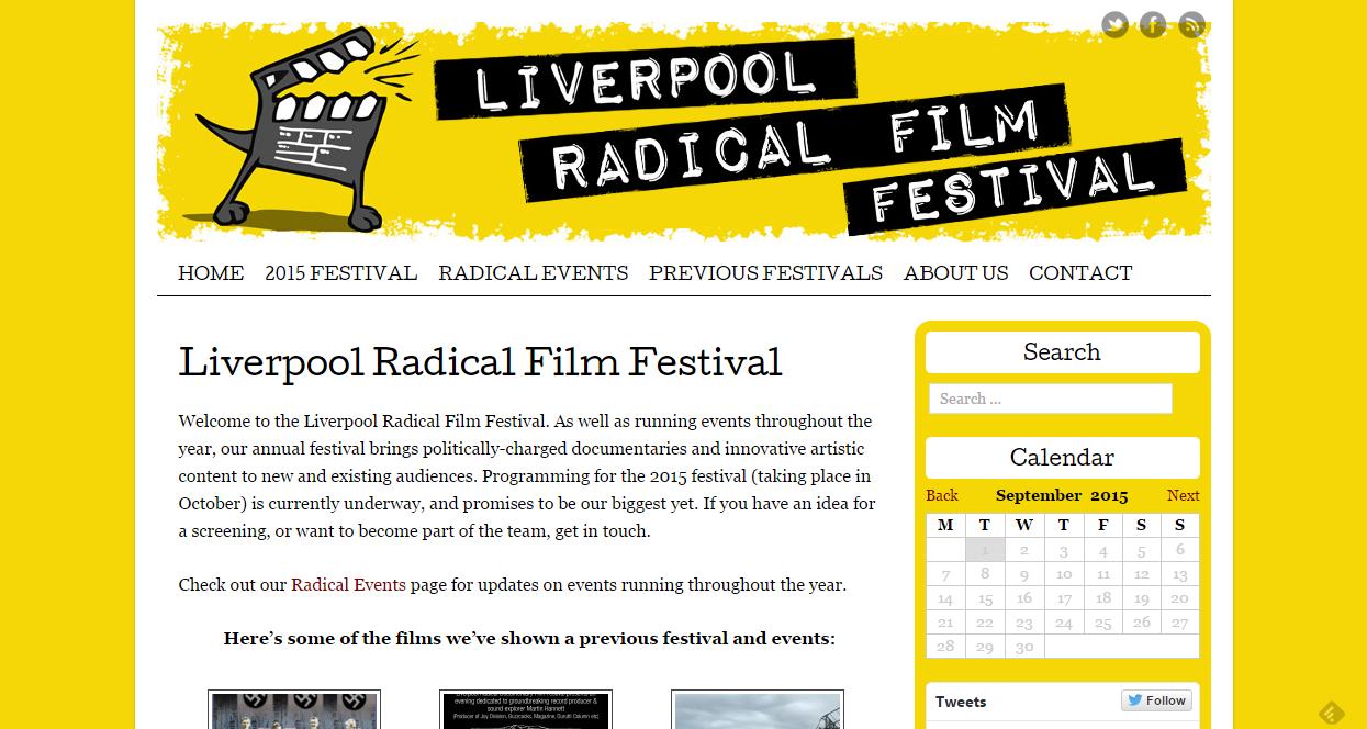 Liverpool Radical Documentary festival